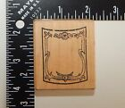 Mail Expressions Wine Bottle Label Rubber Stamp 409