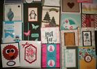 100+ STAMPIN UP Demonstrator Quality Handmade Card Fronts and Full Cards