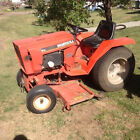 ingersoll 446 garden tractor with mower deck and rototiller