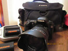 Canon EOS 20D camera with 2 batteries Charger and Bag Bundle