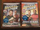 The Biggest Loser 2 DVDs Power X Train and Power Ab Blast NEW SEALED workout