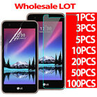 Tempered Glass Screen Protector PET Film For LG Phoenix 3 Fortune LG K4 2017 LOT