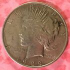 1922 Peace Silver Dollar Coin  h157