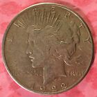 1922 S Peace Silver Dollar Coin  h158