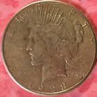 1923 S Peace Silver Dollar Coin  h159