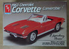 AMT 1963 Chevrolet Corvette Convertible 1/25 Scale Model Car Kit