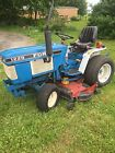 1990 Ford 1220 4WD Compact Utility Tractor W/60