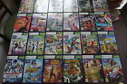 XBOX 360 Kids KINECT Games Make your selection SONIC STAR WARS ZUMBA SPORT HARRY