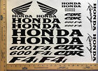 HONDA CBR 600 F4i 600F4i 18 COLORS AVAILABLE DECAL KIT HIGH QUALITY STICKERS