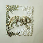 W204W Tiger Cell Phone 4 5 6S Crystal Case Deco Den DIY Iphone4 Kit