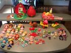 Huge lot Vintage Strawberry Shortcake dolls worm bakery pets case snail