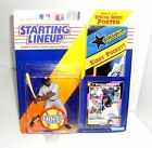 KIRBY PUCKETT MINNESOTA TWINS STARTING LINEUP ACTION FIGURE WITH SPECIAL POSTER