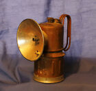VINTAGE JUSTRITE CARBIDE MINERS LAMP LIGHT CAMP LANTERN MADE IN THE USA