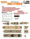Hunter W40001 1/400 RMS TITANIC Wooden Deck For ACADEMY 14215