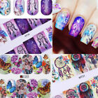 12Patterns Water Decals Nail Art Transfer Stickers Christmas Manicure Decoration