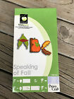 Cricut Cartridge SPEAKING OF FALL Gently Used Complete