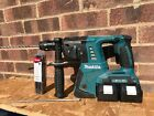 Makita DHR264 36V LXT Cordless SDS Hammer Drill With 2 batteries and 12 bits