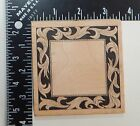 All Night Media Square Picture Frame Rubber Stamp 348J