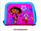 Nickelodeon Jr Dora The Explorer & Boots Pink Embroidered Small Wallwt-6904