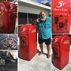 Vintage Jacobs 160 Coke Machine - coca cola sign 44 cavalier 72 vendo 81 26 jsc