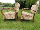 ´s armchairs H-237, art deco style, first half 20th century.