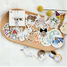 45 pcs pack Lovely Rabbit Decorative Stickers DIY Decoration Diary Stickers