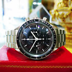Omega Speedmaster Professional Moonwatch Sapphire Back Watch c. 2005
