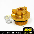 Gold Billet CNC Oil Filler Cap for Ducati Monster 900 1000 ie 750 620
