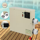55KW 240V Pool Heater Thermostat Swimming Pool SPA Electric Water Heater Pump
