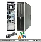 CLEARANCE Fast HP Desktop Tower Computer PC Core 2 Duo 1TB HDD WINDOWS 10 Pro