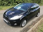 2010 FORD FIESTA BLACK 14 MANUAL PETROL 3 DOOR HATCHBACK