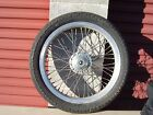 1982 Kawasaki KZ650H CSR, NEW Front Tire, Wheel, Rotor Dust Cover and Hardware.