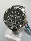 NEW IN BOX Nautica Men's Classic Stainless Steel Multi Watch N17602G NST 501