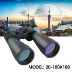 70mm Tube 20x 180x100 Super Zoom HD Outdoor Binoculars Nightvision Telescopes US