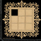 The Dusty Attic Chipboard Garden Tile Frame Large