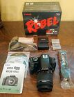 Canon EOS Digital Rebel XSi EOS 450D 122 MP Digital SLR Camera Black