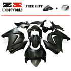 Pro Factory Paint- ABS Fairing Kit For Kawasaki Ninja 250R 2008-2012 Matte Black
