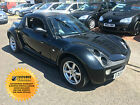 2006 SMART ROADSTER 07 2 DR TARGA COUPE AUTO BLACK 2 OWNERS FSH 71000 MILES