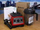 Vitamix G Machine w/ New Low Profile Container Under Warranty Red PERFECT COND
