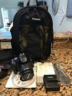 Canon EOS Digital Rebel XSi EOS 450D 122 MP Digital SLR Camera Black Kit