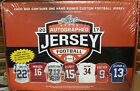 2017 Leaf Autographed Jersey Football unopened box contains hand signed jersey