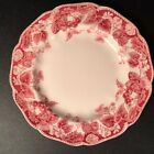Antique Johnson Brothers Strawberry Fair Bread Plates