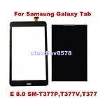 Touch Screen Digitizer+LCD Replacement For Samsung Galaxy Tab E 8.0 4G SM-T377A