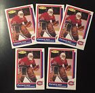 (5) LOT 1986 OPC O-Pee-Chee Patrick Roy #53 RC Rookie Card Reprint NM-MT+