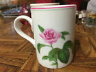FITZ and FLOYD Fine Porcelain Rose d'Avignon Tea Coffee Mug Cup FF Japan #458