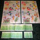 Tatouage Fairies Dry rub Transfer 2 full sheets with grass