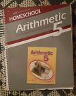 Abeka Arithmetic 5 Curriculum Lesson Plans Like New