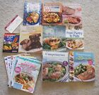 WEIGHT WATCHERS COOKBOOKS  MAGAZINE LOT + POINTS BOOSTER + FOOD COMPANION