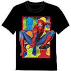 Boys Marvel Spider Man Graphic Shirt New with Tags Sz 5 6 Kids Summer BNWT