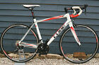 Cube Peloton Pro White Red 2015 Road Racing Bike 56cm JUST SERVICED
